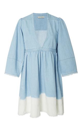 Medium ulla johnson multi alina ombre mini dress