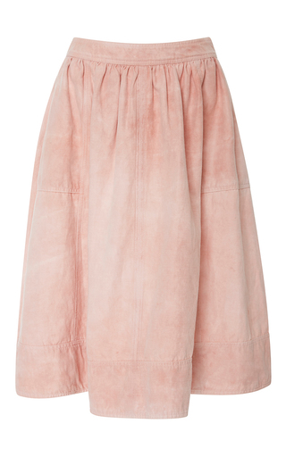 Medium ulla johnson light pink celeste midi skirt