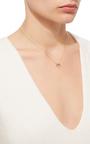 14 K Gold Pave Diamond Ring Necklace by DANA KELLIN Now Available on Moda Operandi