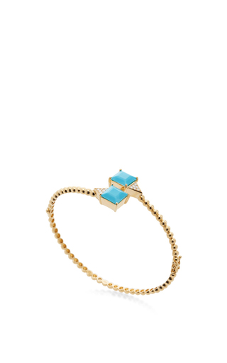 18 K Yellow Gold Trancoso Bracelet by CARLA AMORIM Now Available on Moda Operandi