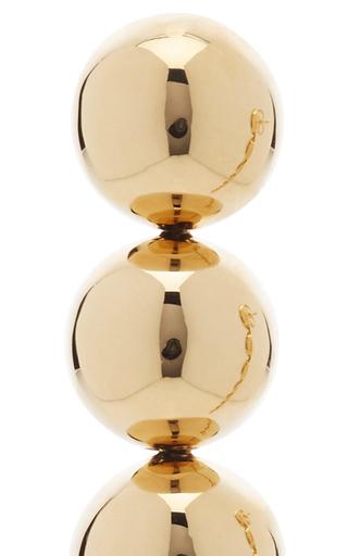 18 K Yellow Gold Centopy Earrings by CARLA AMORIM Now Available on Moda Operandi