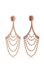 18 K Rose Gold Equilibrio Earrings by CARLA AMORIM Now Available on Moda Operandi