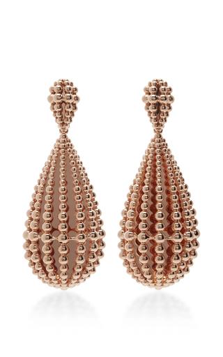 Medium carla amorim gold 18k yellow gold drop earrings