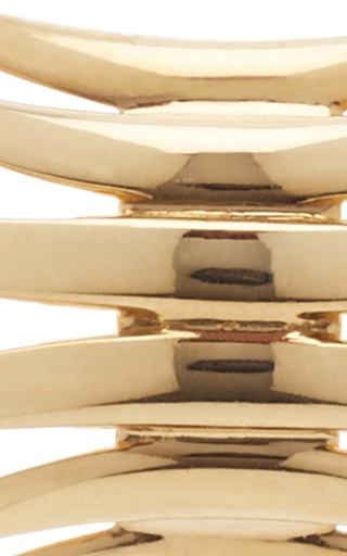 18 K Gold Brasilia Cathedral Studs by CARLA AMORIM Now Available on Moda Operandi