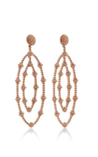 18 K Gold Envolva Se Earring by CARLA AMORIM Now Available on Moda Operandi
