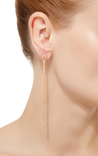 18 K Gold Brigadeiro Earring by CARLA AMORIM Now Available on Moda Operandi