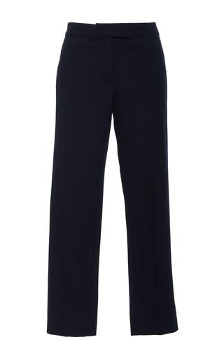 Medium joseph navy finley straight leg trousers