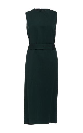 Medium joseph dark green aspen midi dress