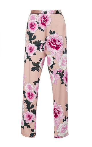 Medium fleur du mal print pajama pants