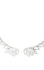 White Gold And Diamond Necklace by JOELLE JEWELLERY Now Available on Moda Operandi