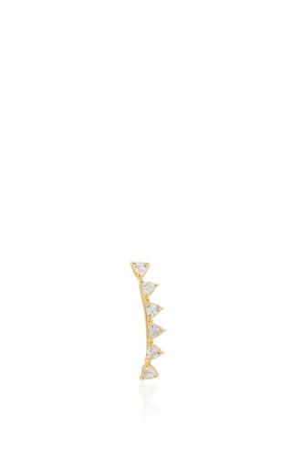 Medium ila collection gold samara ear cuff