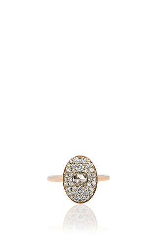 Medium ila collection gold gallagher ring
