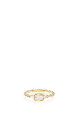 Medium ila collection gold swinton ring