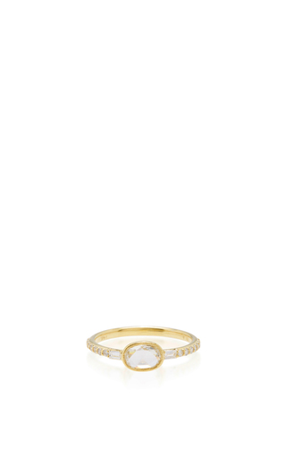 Medium ila collection gold swinton ring