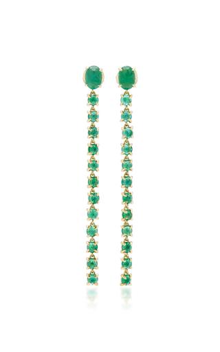 Medium ila collection gold liliya earrings