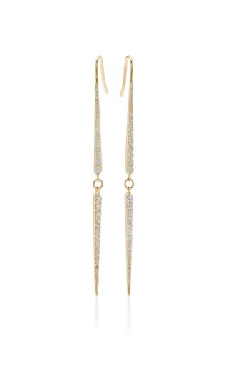 Medium ila collection gold stasya earrings