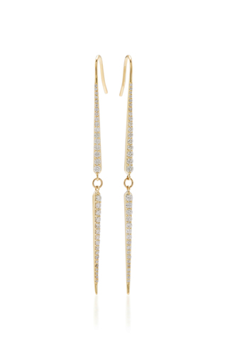 Medium ila collection gold stasya earrings