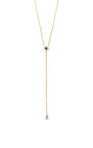Medium ila collection gold ariel necklace