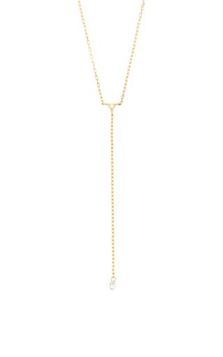 Medium ila collection gold larina necklace