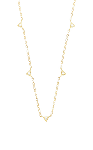 Medium ila collection gold nance necklace
