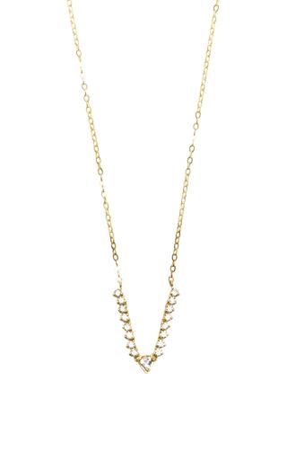 Medium ila collection gold faris necklace