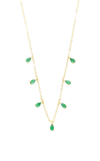 Medium ila collection gold anning necklace
