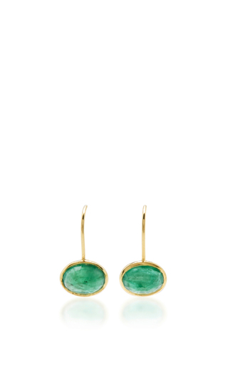 Medium ila collection gold bowman earrings