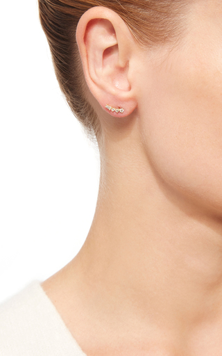 Lisette Ear Climber by ILA for Preorder on Moda Operandi