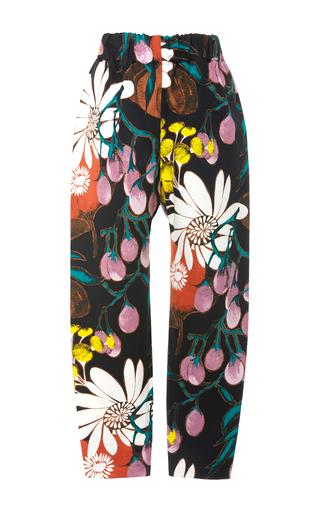 Medium marni print floral print track pants