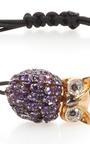 Amethyst Owl Bracelet by PIPPO PEREZ Now Available on Moda Operandi