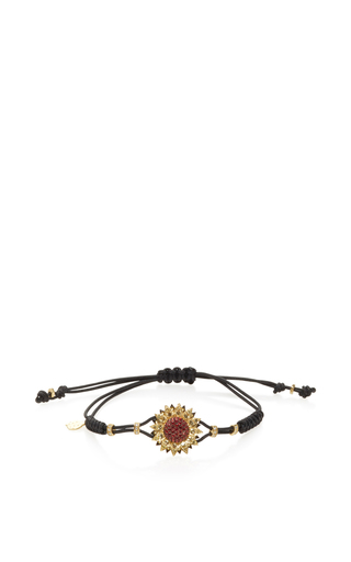 Sapphire Sunflower Bracelet by PIPPO PEREZ Now Available on Moda Operandi