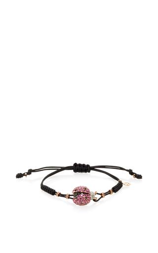 Medium pippo perez pink sapphire lady bug bracelet