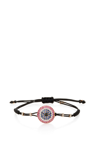 Medium pippo perez pink large evil eye bracelet 3
