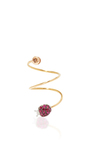 Ruby Lady Bug Ring by PIPPO PEREZ Now Available on Moda Operandi