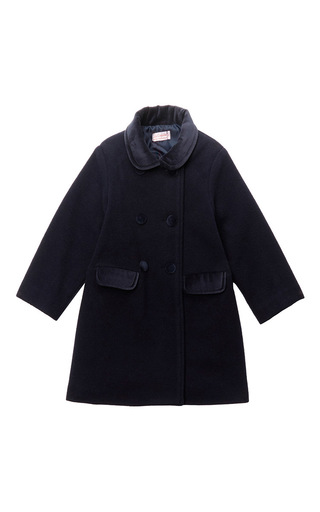 Medium la coqueta navy arrieta coat