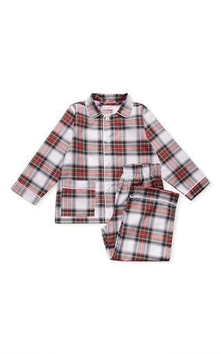 Medium la coqueta multi arenas long sleeve pajama set