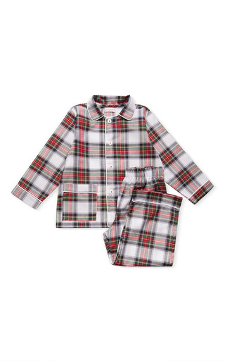 Medium la coqueta multi arenas long sleeve pajama set