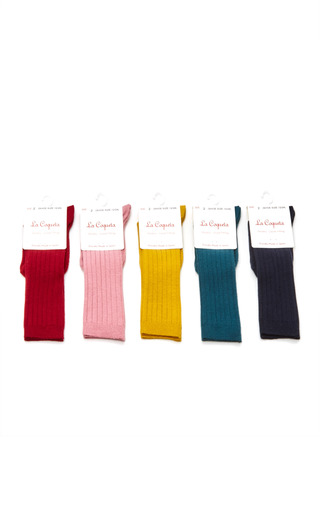 Medium la coqueta multi assorted knee high socks