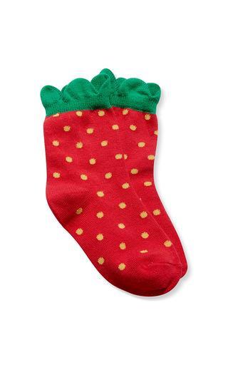 Medium hansel from basel red mini strawberry crew