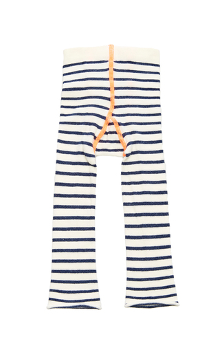 Medium hansel from basel ivory yachtsy stripe leggings
