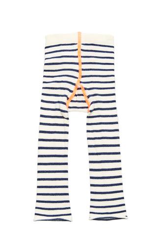 Medium hansel from basel ivory yachtsy stripe leggings