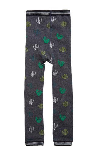 Medium hansel from basel dark grey mini cacti legging