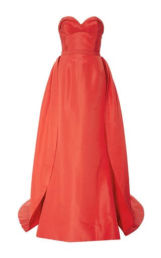 Medium elizabeth kennedy pink draped bodice gown