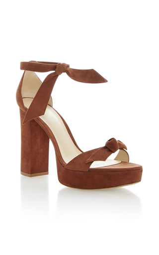 Medium alexandre birman tan mabelha platform sandal