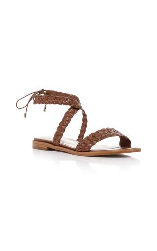 Medium alexandre birman tan pauline sandal