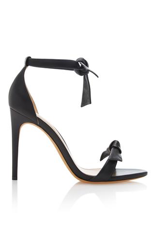 Medium alexandre birman black clarita leather sandals