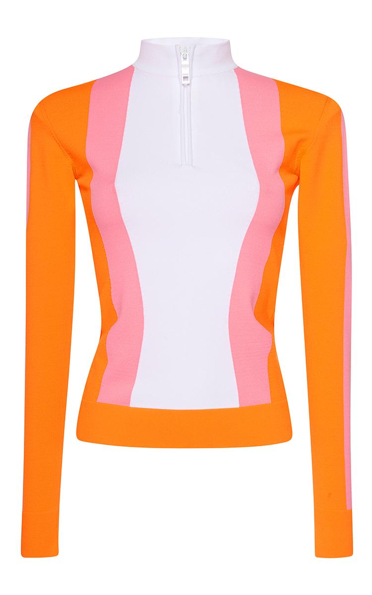 2ddec1f923c9 Emilio PucciSunrise Stripe Long Sleeve Fleece Pullover. CLOSE. Loading