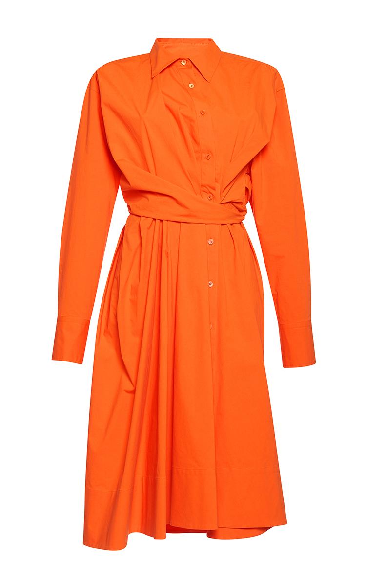 82c30b815aa0 Long Sleeve Shirt Dress by Emilio Pucci   Moda Operandi