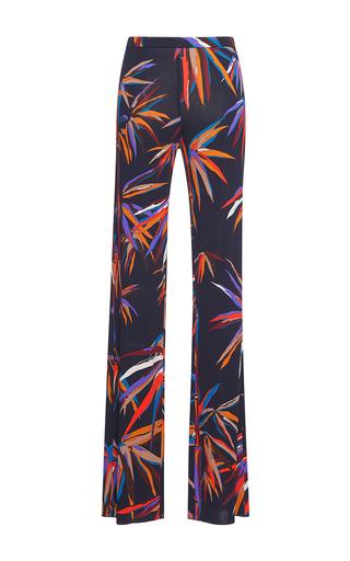 Medium emilio pucci print straight legged trouser