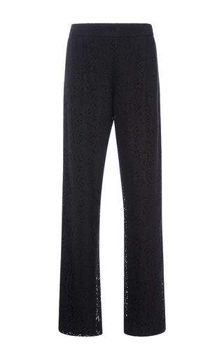 Medium no 21 black lace simona pants